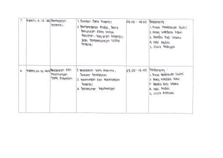 kegiatan pendamping 7 dan 8